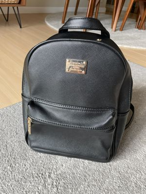 Small Black Backpack - Faux Leather for Sale in Millbrae, CA