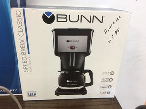Bunn speed brew classic coffee maker for Sale in Houston, TX