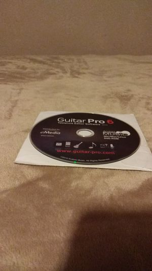 Guitar Pro 6 Software for Sale in San Jose, CA