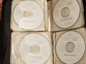ZONDERVAN NIV DRAMATIZED BIBLE CD SET for Sale in Montgomery, AL