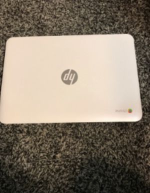 hp chrome laptop white for Sale in Aurora, CO