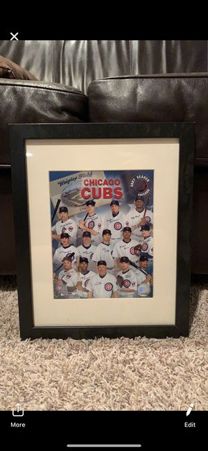 Chicago Cubs 2007 Picture Frame for Sale in Mokena, IL