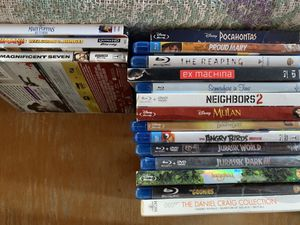Blu Ray/4K MOVIES for Sale in Apple Valley, CA