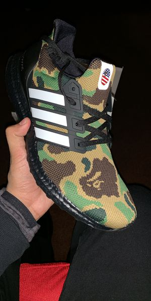 Adidas X Bape ultraboost size 9 for Sale in Columbus, OH