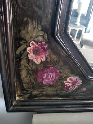 Large hand painted wall mirror for Sale in San Marcos, CA