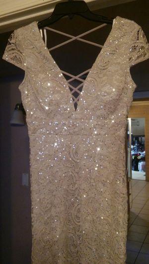 Gray formal dress new for Sale in Mesa, AZ