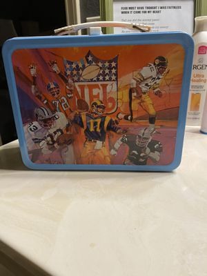 1978 NFL Lunch Box for Sale in US