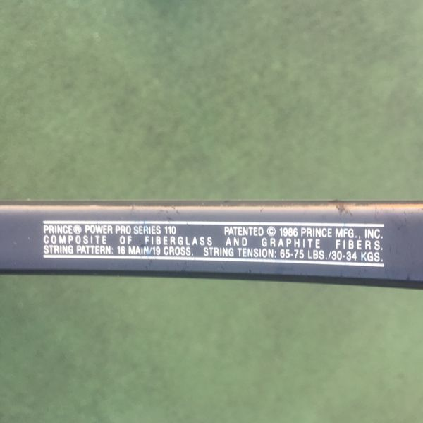 Prince Power Pro 110 Tennis Racket