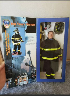 NIB 9/11 NYC New York's Bravest Fireman FDNY Fire Zone Action Figure for Sale in Fuquay-Varina, NC