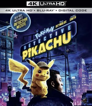 Detective Pikachu 4K Ultra HD + Digital Code + Trading Card for Sale in Garden Grove, CA