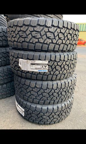 BRAND NEW TIRES 265/60r20 TOYO OPEN COUNTRY A/T FOR SALE ALL 4 TIRES $1065 WITH FREE MOUNT AND BALANCE for Sale in San Jose, CA