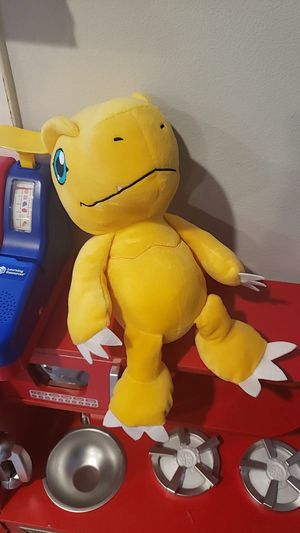 Digimon agumon stuffed animal for Sale in Los Angeles, CA