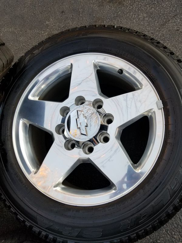 "20"" Chevy Silverado ltz Z71 HD 2500 stock wheels tires LIKE NEW!"