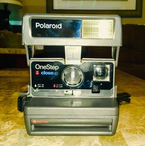 Polaroid One Step Close Up Instant 600 Film Camera.. Vintage, Cool, Hip, Tested, 💯 Works great! for Sale in Villa Rica, GA