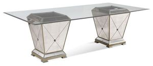 Brand new borghese mirrored dining table / NEW in box for Sale in San Jose, CA
