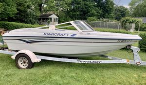 1998 Starcraft Fish & Ski Boat with ShoreLand'r trailer for Sale in Derby, CT