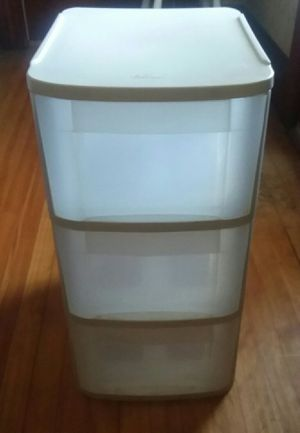 Sterilite 3 Drawer Storage for Sale in South Portland, ME