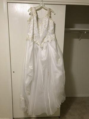 Reduced Price David's Bridal Wedding Dress for Sale in Austin, TX