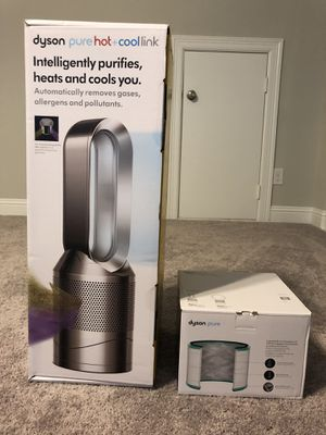 Dyson Pure Hot + Cool Link Air Purifier + extra filter for Sale in Garland, TX