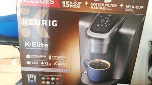 K Elite coffee maker for Sale in Carrollton, TX