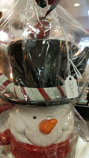 SNOWMAN TEA POT CUP for Sale in Leesburg, VA