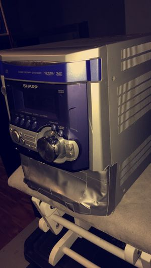 Sharp stereo system for sale for Sale in Elkhart, IN
