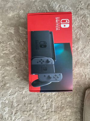 Brand New/Unopened 2020 Nintendo Switch with Grey Joy Con Bundle for Sale in Washington, DC