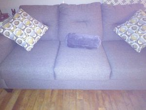 Gray Sofa w/ pillows Like New for Sale in Jamestown, NC