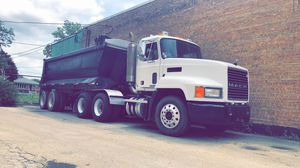 Mack ch600 semi quarter frame dump trailer for Sale in Bedford Park, IL