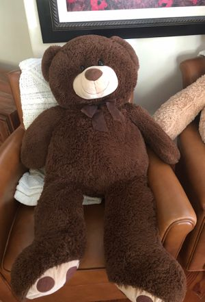 Large stuffed brown bear for Sale in Fullerton, CA