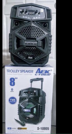 "8"" portable Bluetooth speaker 🔈 for Sale in Bellflower, CA"