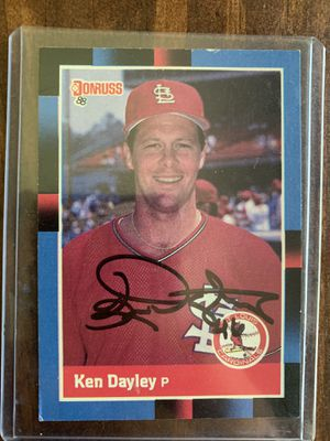 Ken Dayley autograph baseball card for Sale in St. Louis, MO