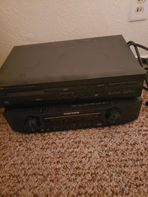 Receiver, DVD player for Sale in Fresno, CA