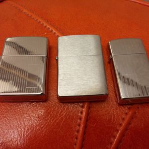 Zippo Lighters - Lot of 3 for Sale in Clearwater, FL