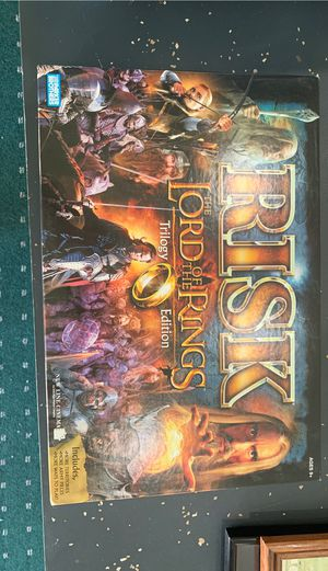Lord of the Rings Risk Boars Game for Sale in Port St. Lucie, FL