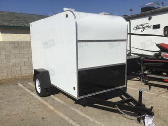 Enclosed Trailer 5x10x6 (White) for Sale in El Monte,  CA
