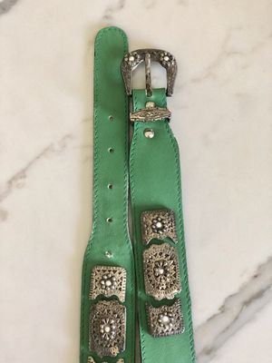 jag genuine leather Italian vintage belt for Sale in Poway, CA