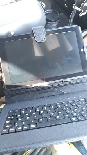 Windows 10 tablet with keyboard/stand for Sale in Brentwood, CA