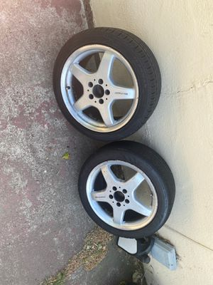2 staggered AMG rims for Sale in Pittsburg, CA