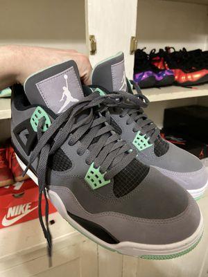 Jordan 4 Green Glow (Size 10) Barely Worn for Sale in Columbia, MO