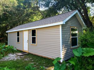 12x32 Shed or Unfinished Tiny House for Sale in Hudson, FL