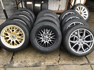900 for full set up, 700 for just rims fit sz 17' 18' 19' for Sale in Boston, MA