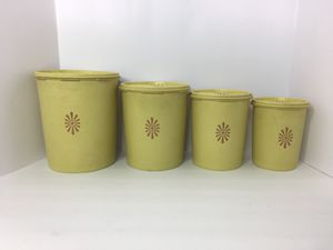 Vintage Tupperware container set of 4 for Sale in Chino, CA