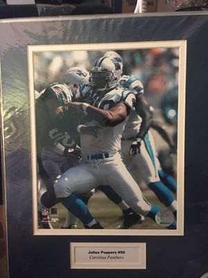 2 Carolina Panthers photos matter and ready to frame .. for Sale in Durham, NC