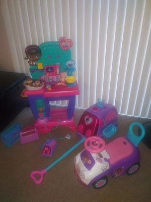 Doc McStuffins toys for Sale in Fontana, CA