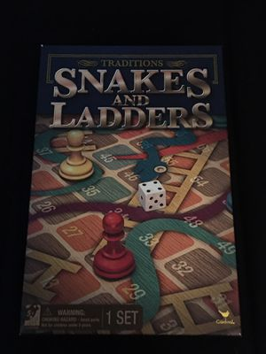 Vintage snakes and ladders board game for Sale in OH, US