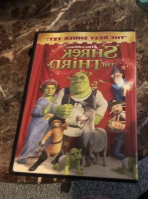 Shrek the Third Dvd for Sale in Parkville, MD