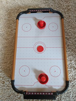 Mini Air hockey table top game for Sale in Glendale, CA