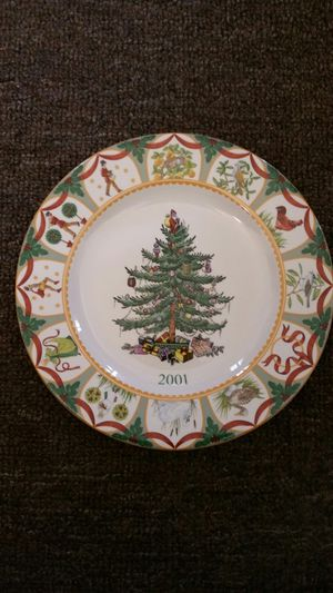 SPODE The Christmas Tree Year Plate 2001 for Sale in Chesapeake, VA