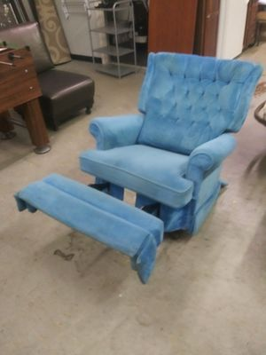 Blue recliner for Sale in Nashville, TN